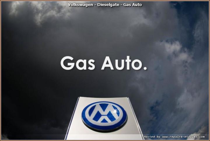 DieselGate Volkswagen de DAS AUTO à GAS AUTO