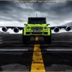 Mercedes G500 4×4² – Airbus A380 Lufthansa – Photos Stephen Reuß