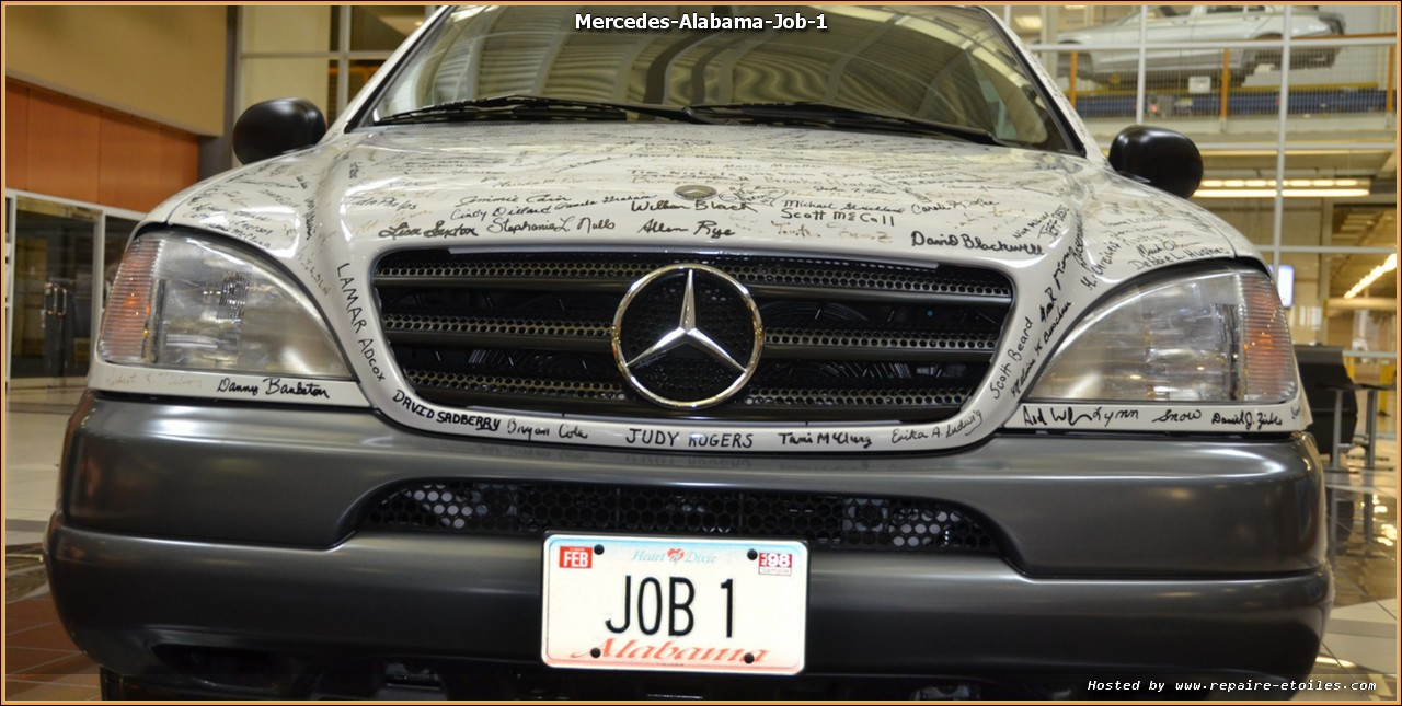 Mercedes benz usa l 39 alabama dans le viseur de l 39 oncle for Mercedes benz mechanic jobs